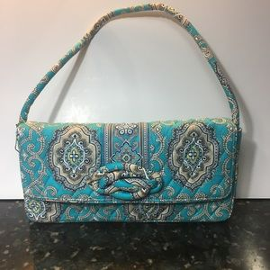 NWT Vera Bradley Knot Just a Clutch handbag